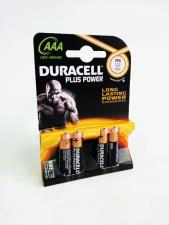 DURACELL PLUS POWER MINISTILO AAA - MN2400 - 4 PEZZI