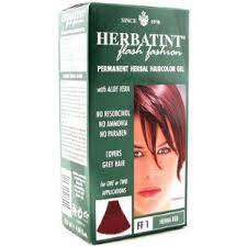 HERBATINT FLASH FASHION TINTA PER CAPELLI FF1 ROSSO HENNE - 135 ML
